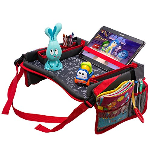 Attachable Stroller Snack Tray - 5