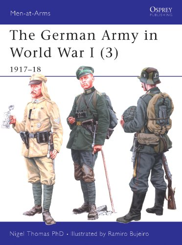 The German Army in World War I (3): 1917?18: v. 3 (Men-at-Arms)
