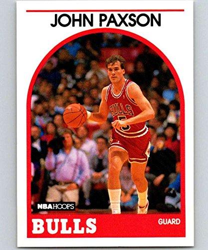 1989-90 Hoops Basketball #89 John Paxson Chicago Bulls Official NBA Trading Card
