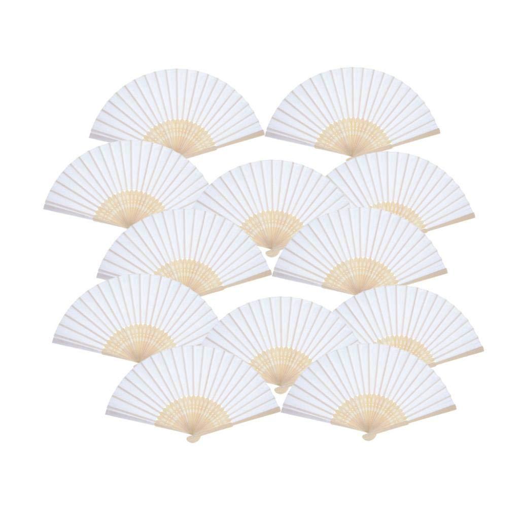 Amazoncom Amaping 12pcs Chinese Folding Incense Wooden Hand Fan