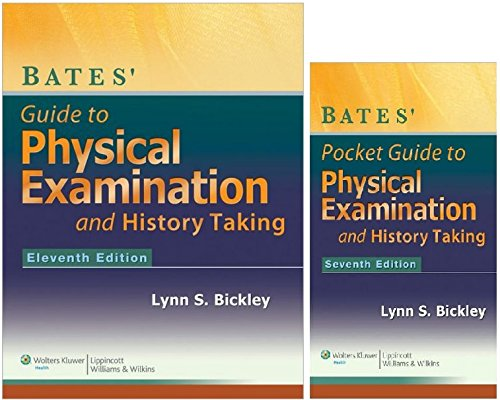Bates Physical Examination and History Taking Text and Pocket Guide Package Two Book set Bates Guide to Physical Examination and History Taking (Book 11)