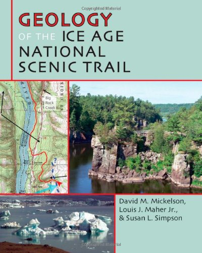 ice age trail map - 3
