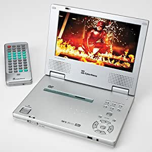 cyberhome ch ldv 712 7 inch portable progressive scan dvd player silver electronics. Black Bedroom Furniture Sets. Home Design Ideas