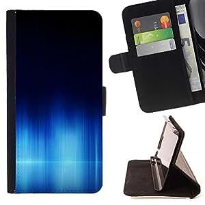 Momo Phone Case / Flip Funda de Cuero Case Cover - Aurora Ártico Agua Sinter mar polar oscuro - Sony Xperia Z3 Compact