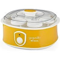 Ariete Yogurtera 617 de 1.3 litros, 7 tarros de cristal, tapa transparente, botón encendido apagado, compacta, 12 horas…