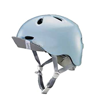 Bern Berkeley with Flip Visor Casco de Ciclismo, Mujer, Satin Sky Blue, Small