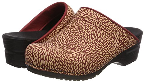 Open Red Women''s red Sanita Felecia Clogs 4 wvSq7qEHn