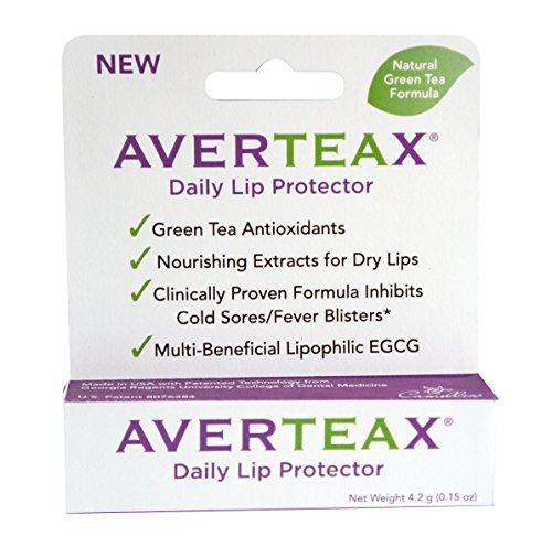 AverTeaX® Daily Lip Protector, Nourishing Extract for Dry Lips, and Clinically Proven Formula Inhibits Cold Sores/Fever Blisters