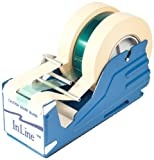 General Purpose Tape Dispensers, Hold Up to 3'' Wide Tape or 3 one inch tapes (6/Case)