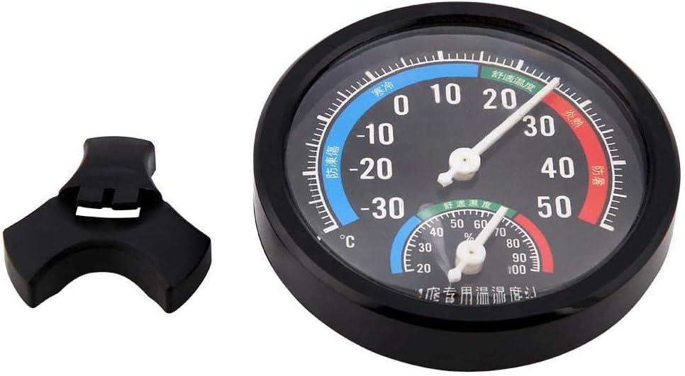 Pssopp Rettile termometro igrometro 2 in 1 Rettile terrario igrometro quadranti calibri Rettile termometro per Ragno Tartaruga Lucertola