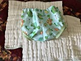 Diaper Covers ~ Set of 2 Printed ~ Handmade in USA