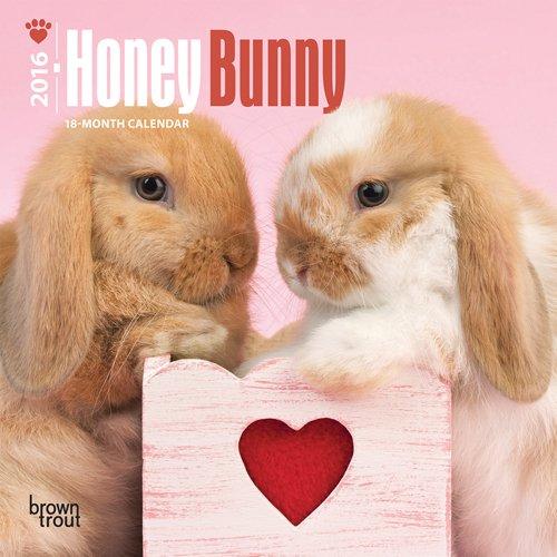 Honey Bunny Mini Wall Calendar