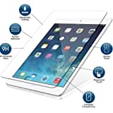 Premium Explosion Proof Tempered Glass Screen Protector Apple iPad Air / iPad Air 2 / iPad Pro 9.7 Compatible Models A1673 , A1674 ,A1675 , A1474 , A1475 , A1566 . A1567