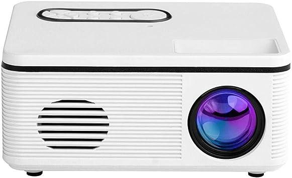 Opinión sobre S361 HD Mini proyector Mini proyector LED Android WiFi Proyector Video Home Cinema 3D HDMI Película Proyector de Juegos