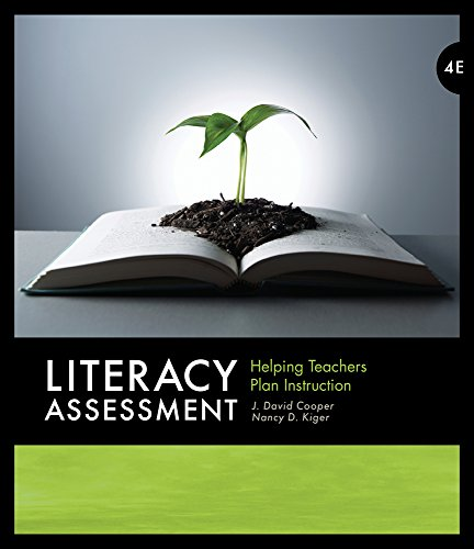 Literacy Assessment: Helping Teachers Plan Instruction (What's New in Education) ()