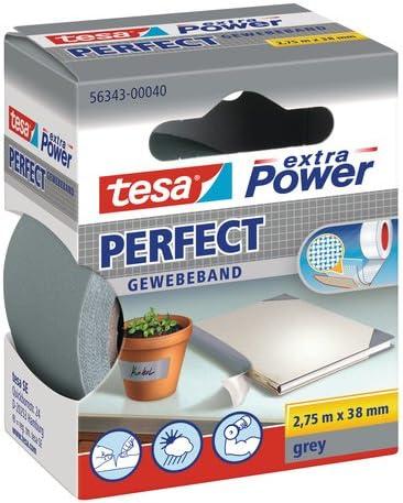 38/mm x 2,75/m de color gris Cinta adhesiva Tesa 56343