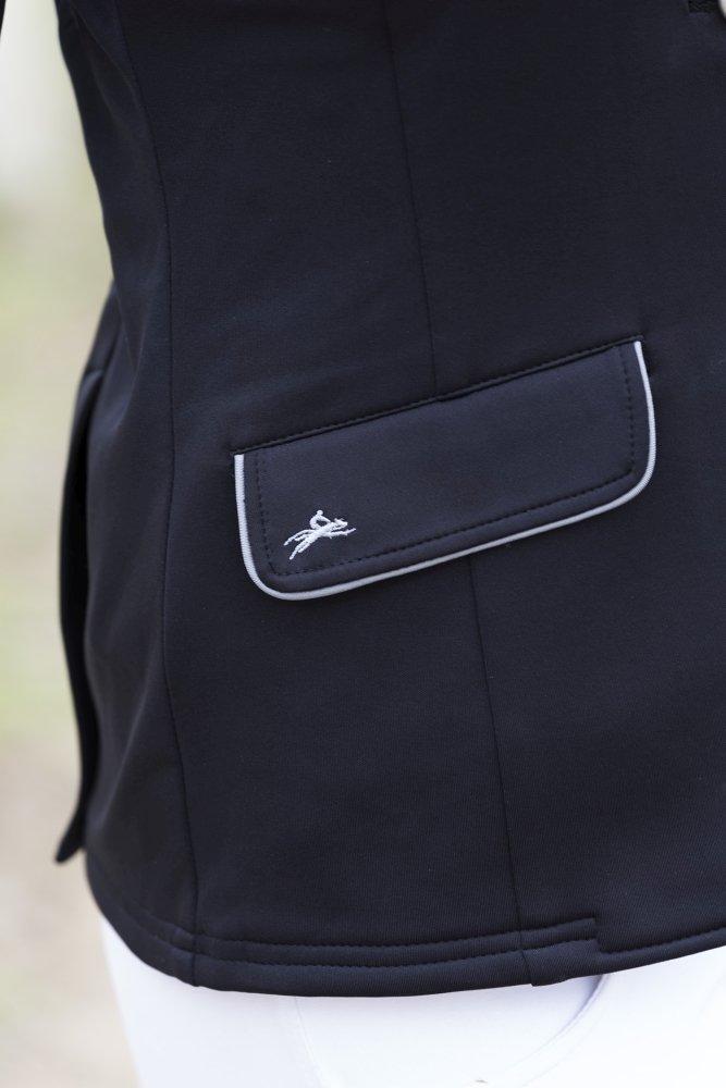 Veste concours soft classic - Couleurs - Noir, Taille Française - Dame 40