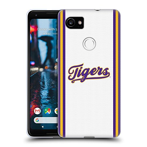Louisiana State University Jersey - Official Louisiana State University LSU Football Jersey Soft Gel Case for Google Pixel 2 XL