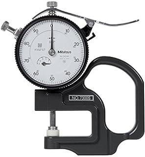 0-8 Range 0.001 Graduation Caliper Type +//-0.001 Accuracy Mitutoyo 527-312-50 Dial Depth Gauge with Fine Adjustment