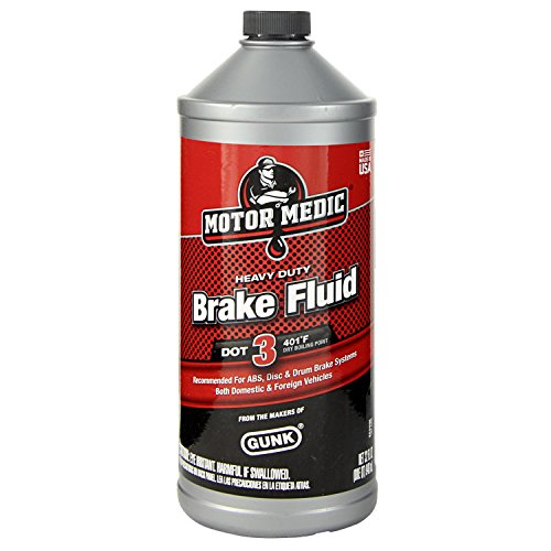 Hydraulic Motor Brake - Niteo Motor Medic M4432 DOT 3 Heavy Duty Brake Fluid - 32 oz.