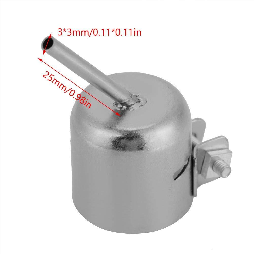 buse de pistolet thermique pour outil de r/éparation de la station de soudage 850 /à air chaud Ensemble de buses /à air chaud Short3*3MM