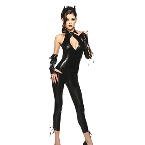 Free Fisher Disfraz de Gato para Mujer Cosplay Catsuit ...