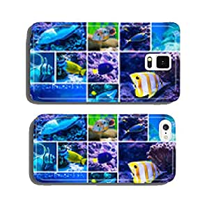 Colorful fish in aquarium saltwater world cell phone cover case iPhone6 Plus