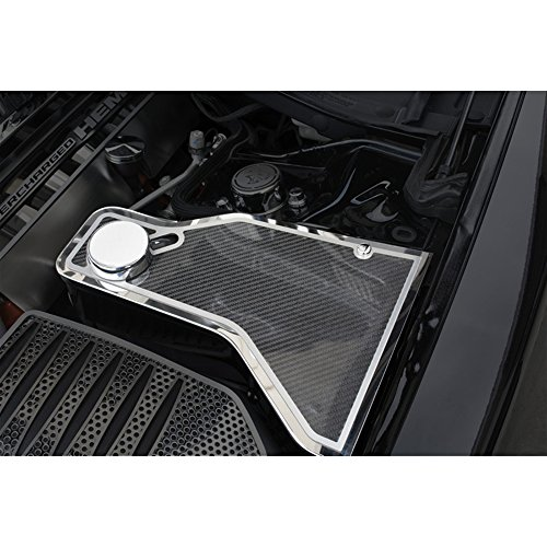 Upgrade Your Auto Carbon Fiber Water Tank Cover Top Plate for 2011-2015 Dodge Charger w/ACC ()