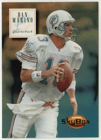 Dan Marino (Football Card) 1994 SkyBox Premium # ()