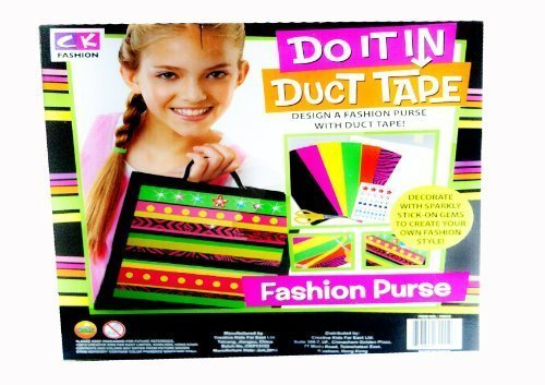 Do it In duct Tape Fashion Purse - Create your own Kit