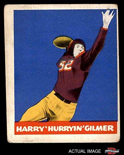 1948 Leaf # 18 Harry Gilmer Washington Redskins (Football Card) Dean's Cards 2 - GOOD Redskins
