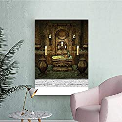 Wall Stickers for Living Room Altar in Fantasy Spe