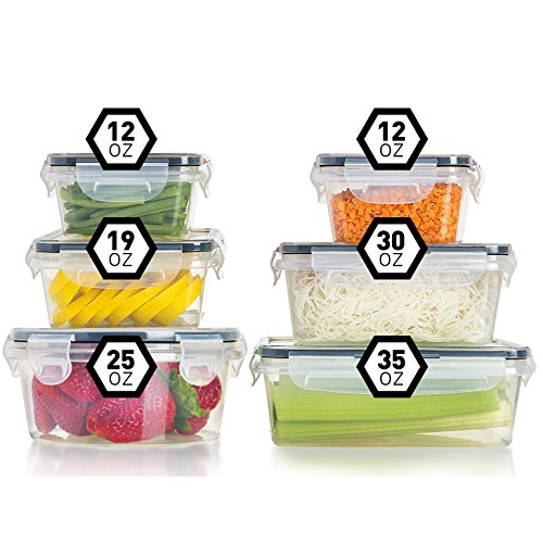 Fullstar Airtight Food Storage Containers with Lids