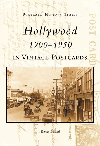 Hollywood 1900-1950 in Vintage Postcards (Postcard History)