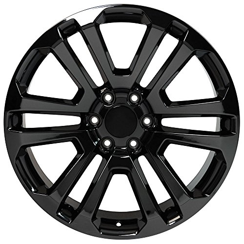 Amazon Com Oe Wheels 22 Inch Fits Chevy Silverado Tahoe Gmc Sierra