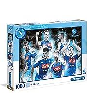Clementoni - SSC Napoli puzzel, 1000 stuks, meerkleurig, volwassenen 39540