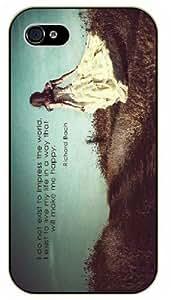 "iPhone 6 (4.7)"" I believe in the sun even when it's not shining, I believe in love even when I am alone - Bible verse black plastic case / Christian Verses Kimberly Kurzendoerfer"