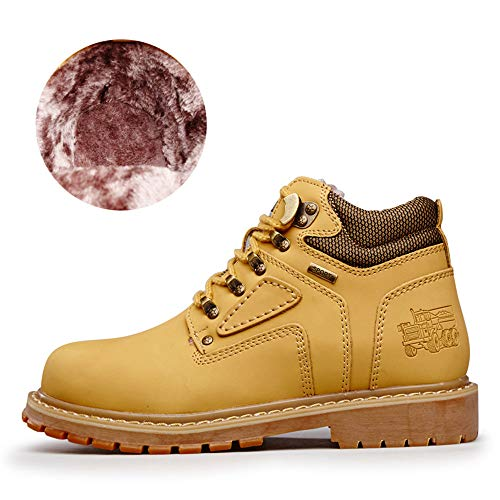 Daily Cotton Work Occasions Top optional Outsole Bangxiu Round Stivaletti color For Men Casual All Yellow Yellow Eu Convenzionale Shoes Wark High Boots Dimensione Warm 47 qvw0xwZ