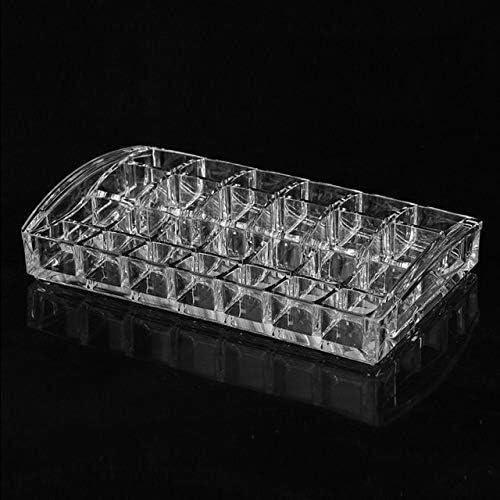XWYSSH主催 化粧品ストレージボックス透明なアクリルアクリルプラスチックマニキュアリップは、化粧品のストレージメイクアップホルダーシェルフスタンド XWYSSH