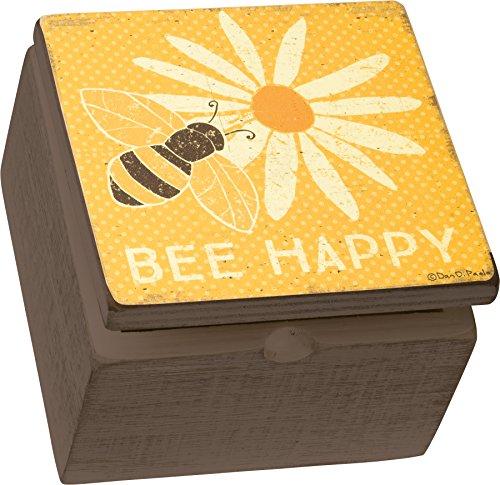 Primitives by Kathy Box Sign Box - Bee Happy