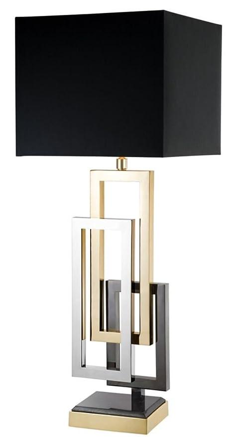 Casa-Padrino Lámpara de Mesa de Diseño - Accesorios de Sala ...