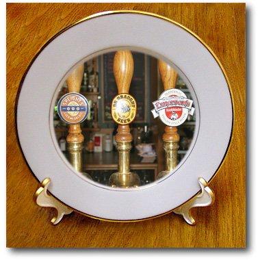 3dRose cp_73961_1 Bar, Careys Bay Hotel, Port Chalmers, New Zealand-AU02 DWA3680-David Wall-Porcelain Plate, 8-Inch
