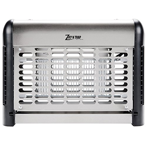 Stainless Steel Insect Trap / Bug Zapper - 1150 Sq. Ft. Coverage, 26W By TableTop King by TableTop King