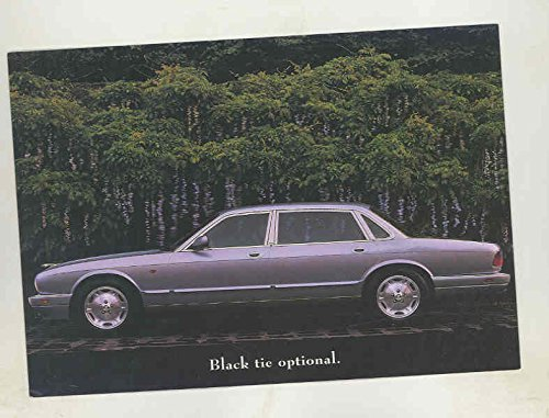 1997 Jaguar XJ6 L Large Factory Postcard