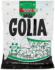 Golia Farafallina Caramelle Gommose Morbide al Gusto di Liquirizia, Formato Scorta da 9 Buste da 180 g