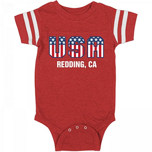 July 4th USA Baby Redding, CA: Infant Rabbit Skins Football - Clothing Redding Women's Ca