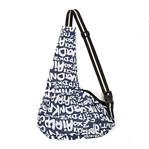 Amzdeal-Portable-Pet-Cross-body-Bag-Pet-Carrier-Oxford-Cloth-Dark-Blue-Letter-Pattern-Middle