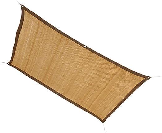 Red Sombreado Tela de Sombra, Premium Heavy Duty 90% Sunblock Sade Sails, Cubierta de Sombra de Planta, Cubierta de Pantalla de pérgola for Techo, Beige (Size : 4M×8M): Amazon.es: Hogar