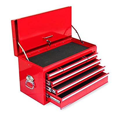 Excel 6 Drawer Tool Chest with Locking Cover by Excel International Inc