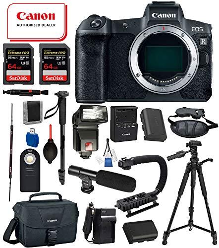 Canon EOS R Full-Frame Mirrorless Digital Camera Body Only U
